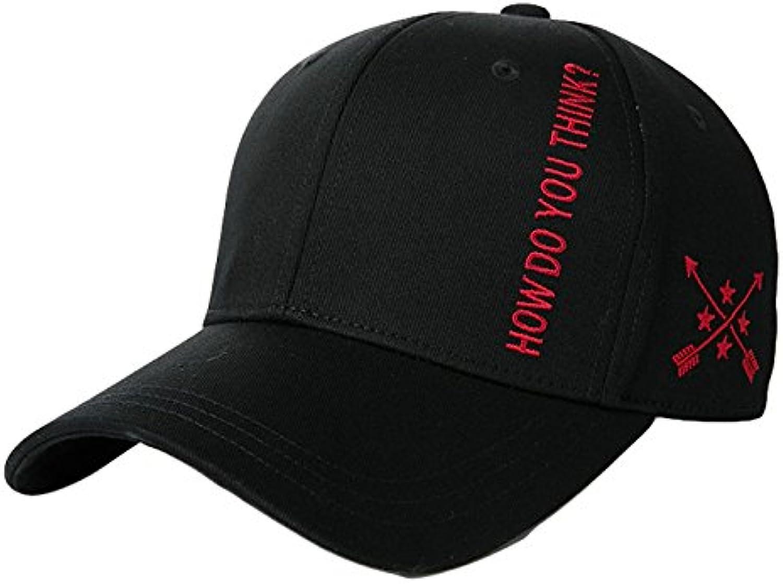 Hat House- Cappello Unita Cappellino Ricamato a Tinta Unita Cappello per  Berretto da Baseball Simple 3f31d44ce943