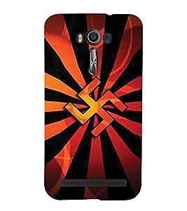 99sublimation Swasthik the design of god Designer Back Case Cover for Asus Zenfone 2 Laser ZE500KL (5 Inches)