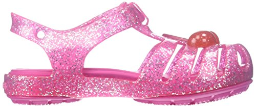 Crocs 204529, Zoccoli Bambina Rosa (Vibrant Pink)