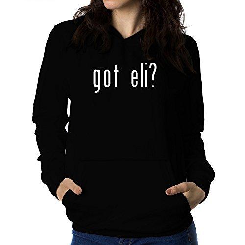 Teeburon Got Eli? Damen Hoodie (Eli Waschen)