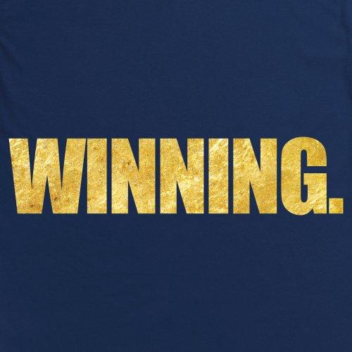 Charlie Sheen Winning T-Shirt, Herren Dunkelblau