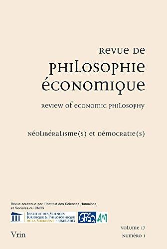 Noéliberalisme(s) et démocratie(s)