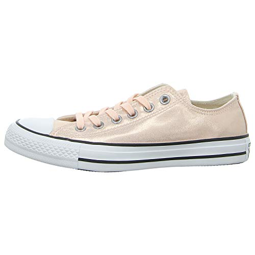 Converse Damen Chuck Taylor All Stars Sneaker Beige (Washed Coral/Black/White 000) 41 EU (Converse Schuhe Mädchen Rosa)