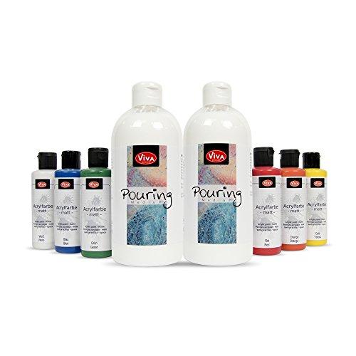 Viva Decor, medium fluido per effetto a colata (etichetta in lingua italiana non garantita) Classic Colors