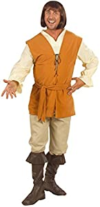 WIDMANN Desconocido Disfraz medieval de campesino para hombre