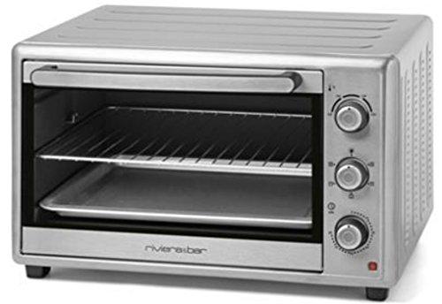 Riviera & bar - qo460a - Four grill chaleur tournante 46l 1800w inox
