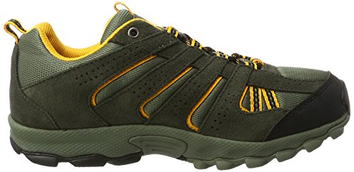 Columbia Youth North Plains, Chaussures Multisport Outdoor Garçon Marron (Cypress, Super Solarize 316)