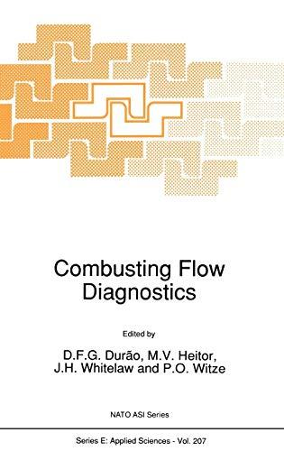 Combustings Flow Diagnostics: Proceedings (Nato Science Series E:, Band 207)