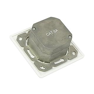 ALCASA gc-n0023RJ White Socket-Outlet–Socket-outlets (80mm, 80mm)