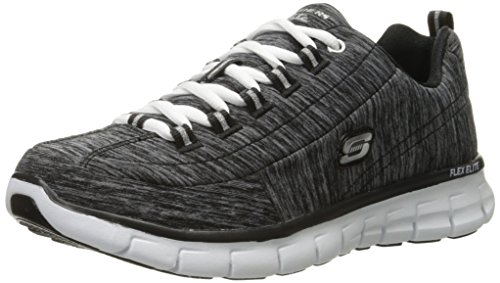 Sneaker Da Donna Tendenza Sinergie Skechers Nere
