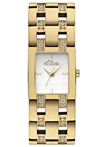 s.Oliver Damen-Armbanduhr Quarz Analog SO-2195-MQ