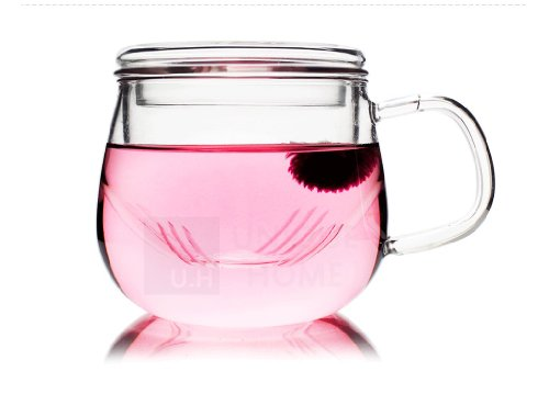 unihom-olvera-320-ml-9oz-transparente-cristal-infusor-taza-de-te-con-colador-y-tapa