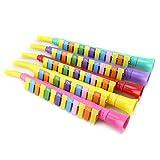 mAjglgE Kinder Kinder 13 Schlüssel Bunte Melodica Kunststoff Klarinette Musikinstrumente Spielzeug – zufällige Farbe