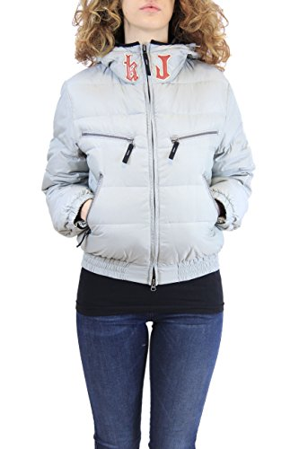 Kejo Ninja Patch Women Goose Down Jacket Grey (XXS, grigio)