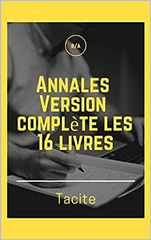 Annales (Version complète les 16 livres) Descargar PDF Ahora