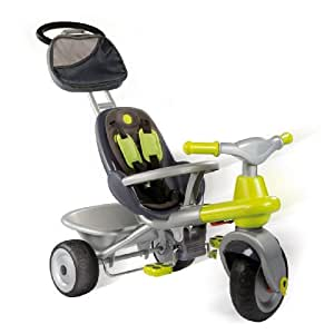 SMOBY - 414007 - Plein Air  - Véhicules pour enfants - Tricycle - Baby Too Cocooning vert