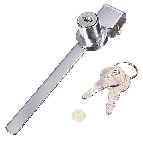 Büro Glasvitrine Schrank Schiebemesser Säge Schloss mit Schlüssel