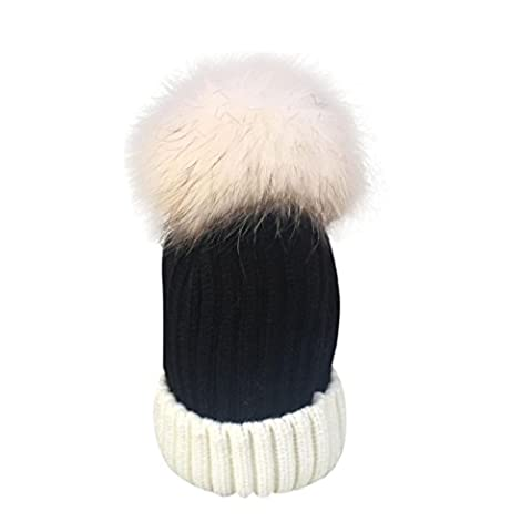 Baggy Beanie Knit Hat, FeiliandaJJ Men's Women's Winter WarmFashion Ski Hat Skull Cap (A)