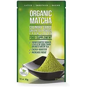 Té verde Matcha Culinario USDA orgánico. 113g