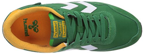hummel Hummel Reflex Lo, Baskets Basses mixte adulte Vert - Grün (Fern Green 6029)