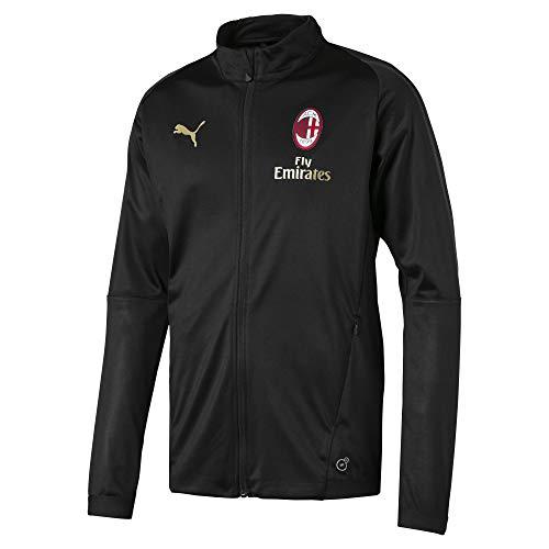 Ac Mailand Jacke (PUMA AC Milan Herren Trainingsjacke Puma Black-Asphalt L)