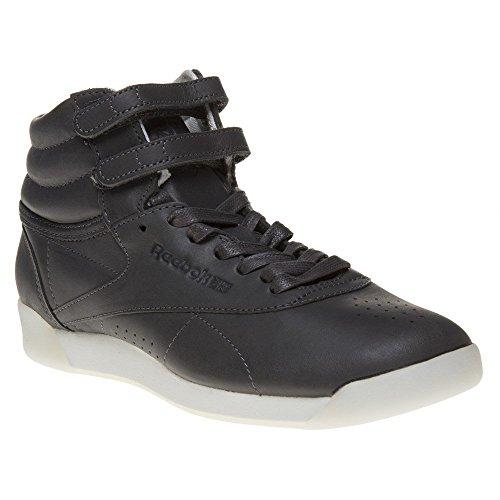 Reebok Freestyle Hi Face 35 Damen Sneaker Grau (Hi-sneaker Freestyle)