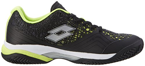 Lotto Sport Viper Ultra Iii Cly, Chaussures de Tennis Homme Noir (Blk/slv Mt)