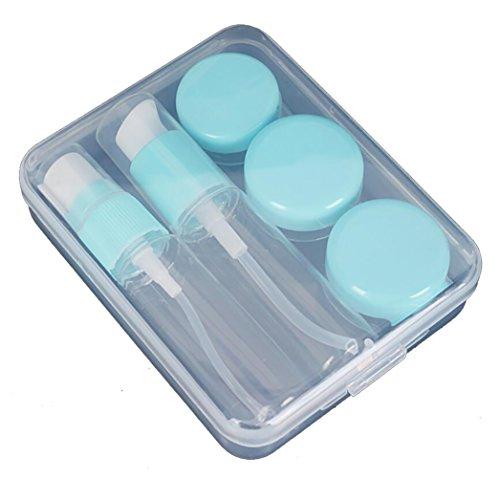 5 Stueck Kosmetik Leerflaschen Set Make Up Gesicht Creme Kunststoff