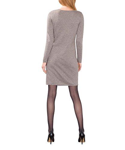 ESPRIT Collection Damen Kleid Braun (taupe 5 244)