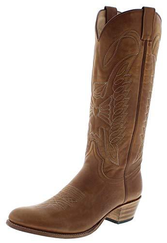530827d9a8d Sendra Boots - Botas De Vaquero Mujer, Color marrón, Talla 36 EU