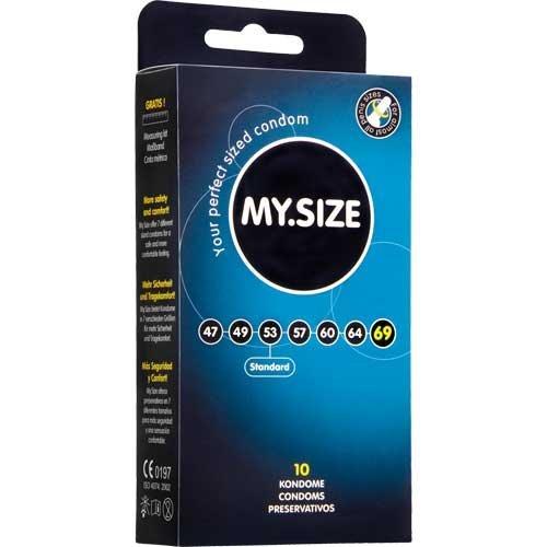 My Size Condoms 69mm x10 XXXL Extremely