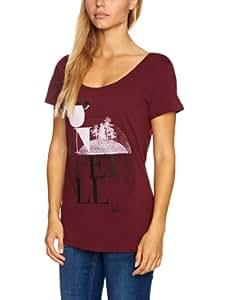 O'Neill Eureka S/Slv Tee Printed Women's T-Shirt Cape Red Large