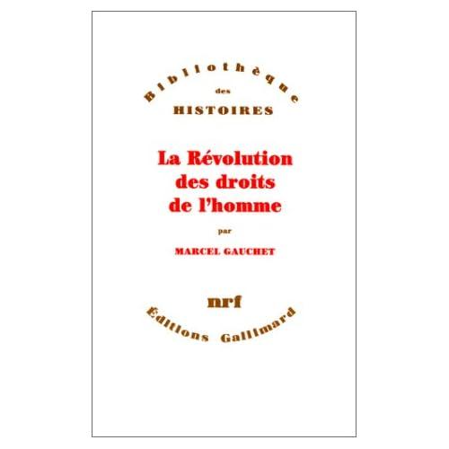 La Révolution des droits de l'homme