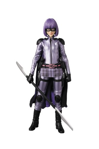 Hit Kickass Girl Kostüm - Sideshow Toys Kick Ass 2 Hit Girl Real Action Hero Action-Figur