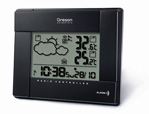 Oregon Scientific, BAR386, Stazione meteorologica digitale, con indicazione della temperatura