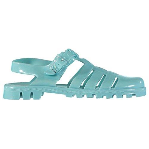 JuJu Jellies Damen Maxi Sandale Jelly-Schuhe Paloma Blau 3 - Frauen Jelly-schuhe