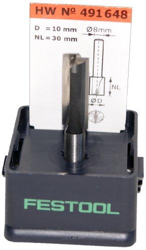 FESTOOL Nutfräser HW 10 x 30 mm Schaft 8 mm