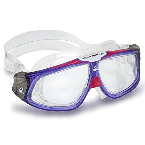 Aqua Sphere Seal 2.0Schwimmen Maske mit Clear Lens Einheitsgröße Violett - Violet/Pink