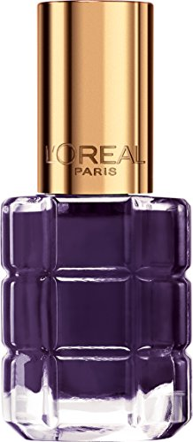 L'Oréal Paris Color Riche Le Vernis Nagellack mit Öl in Lila / Pflegender Farblack in Dunkellila mit Glanz-Effekt /# 334 Violet de Nuit / 1 x 14ml - Beauty Pop Polish Nail