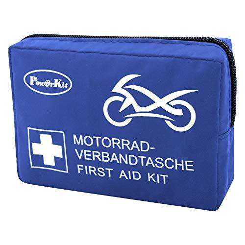 PowerKit ® Motorrad Erste Hilfe Set Verbandtasche DIN13167-2014 Outdoor, Sport & Reisen die Optimale Erstversorgung