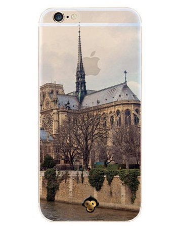 Monkey Cases® Kirche - Handyhülle für iPhone - Schutz Cover - Kathedrale (iPhone 5 / 5s / SE)