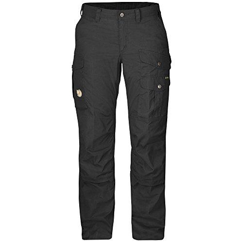 Zip-off Regenhose (Fjällräven Damen Hose Barents Pro, Schwarz (Black), 36, F89336-550-550)