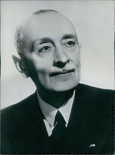 Vintage photo of Portrait of Wladimir d'Ormesson.