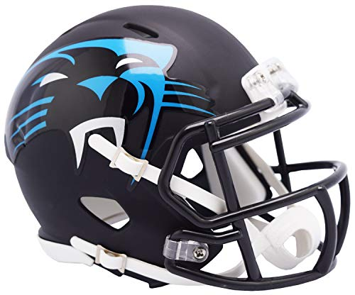 Carolina Panthers Riddell NFL AMP Mini Helm Groß