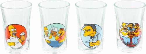 United Labels 0804365 - The Simpsons Schnapsgläser 2 cl
