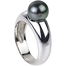 Perle de tahiti bague argent