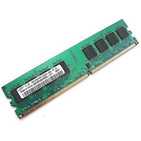 Samsung M378T5663RZ3-CF7 - Memoria para ordenador de sobremesa,2GB, 2Rx8,1,8V, 240 pines, DIMM, PC2–6400U-666–12-E3,800mHz,