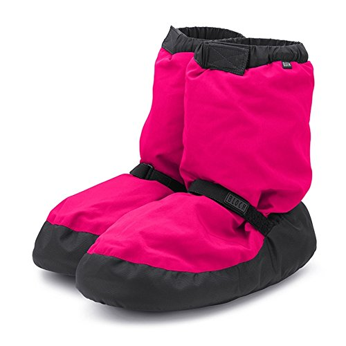 Bloch IM009 Warm Up Booties Neon Pink Large Erwachsene