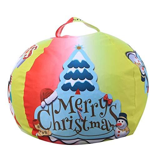 Bolsa para Guardar Juguetes Ideal para Lego, Duplo y Juguetes para niños Bolsa Rápidamente Limpieza Organizador Del Almacenaje - Bolsos de Navidad, bolsas de regalo, decoraciones de Navidad (Verde)
