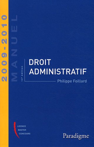 Droit administratif 2009-2010